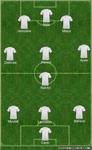 Equipo de la semana. Primera División. 1627087_Dream_Team
