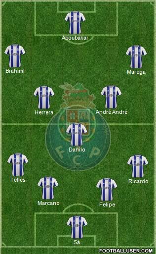 FC Porto AS MOnaco Compo