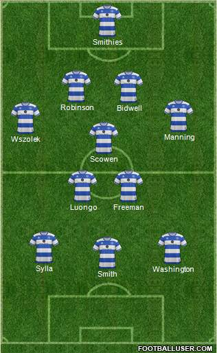 Queens Park Rangers football formation