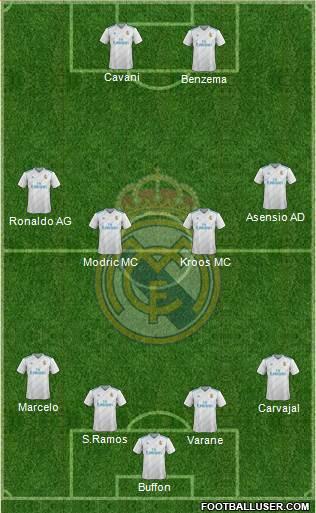 Paris Saint Germain vs Réal Madrid  1681673_Real_Madrid_CF