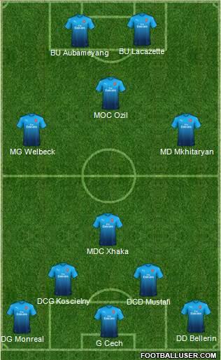 Composition pour la Coupe Fanatic  1683053_Arsenal