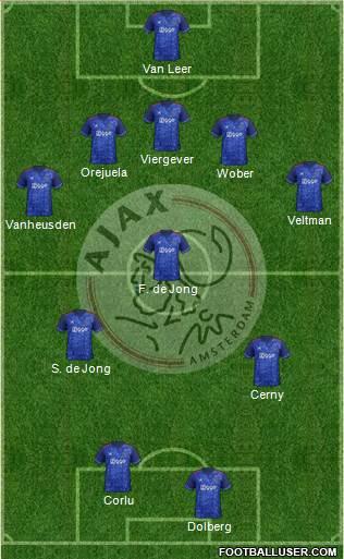 Ajax Amsterdam - Boletín oficial 1709678_AFC_Ajax