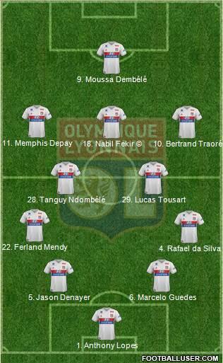 5eme Journée 1712617_Olympique_Lyonnais
