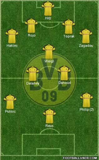 5eme Journée 1717324_Borussia_Dortmund