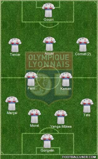 6eme Journée 1720584_Olympique_Lyonnais