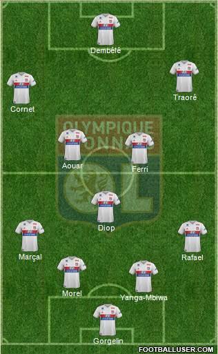 9ème Journée 1723764_Olympique_Lyonnais