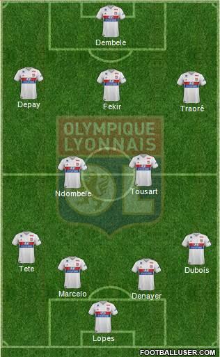 10eme Journée 1724819_Olympique_Lyonnais