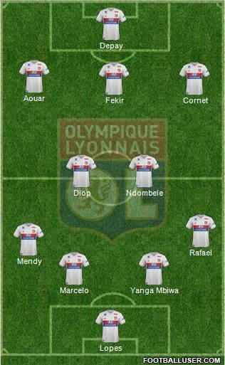 11eme journée 1726336_Olympique_Lyonnais