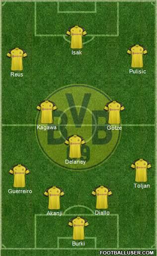 12ème Journée 1726796_Borussia_Dortmund
