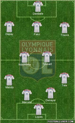 13ème Journée 1728850_Olympique_Lyonnais