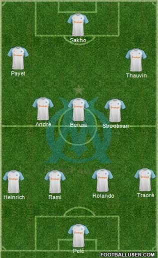 Composition 5ème journée de Ligue 1 avant Samedi 12h 1753012_Olympique_de_Marseille
