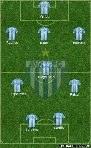 Avaí FC football formation