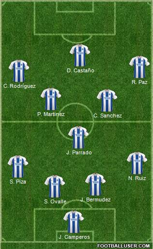 Brighton and Hove Albion football formation