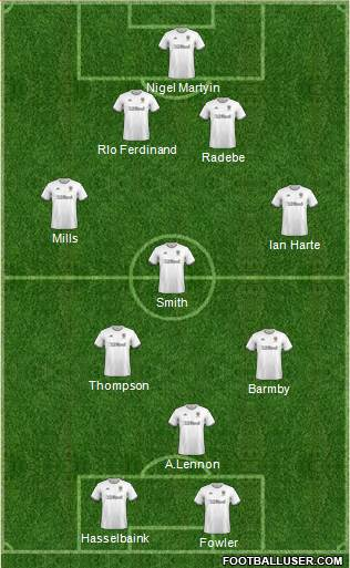 Leeds United football formation