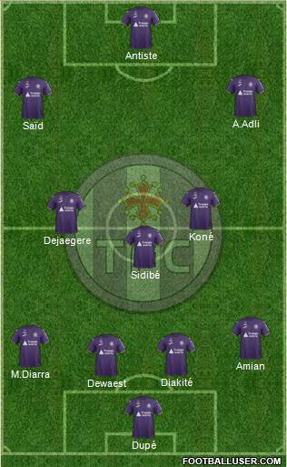 Toulouse Football Club football formation